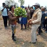 Visite du Minader à Mbangassina dans le Mbam et Kim, Région du centre.